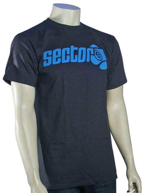 Sector 9 Marquee T-Shirt - Charcoal