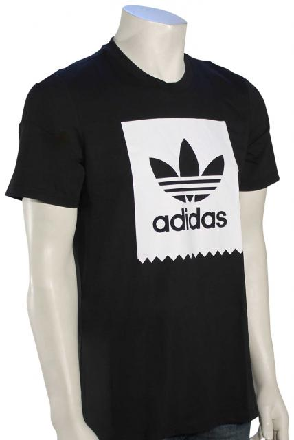 Adidas Solid Blackbird T-Shirt - Black