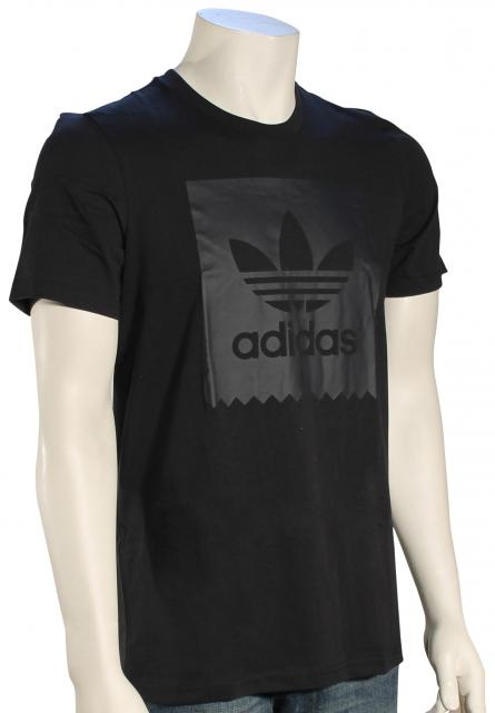Adidas Solid Blackbird T-Shirt - Black / Carbon