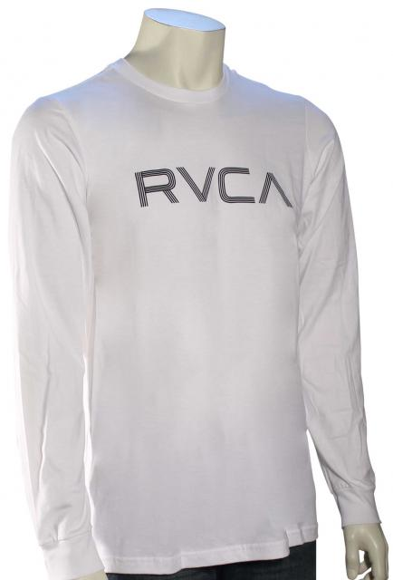 RVCA Lines LS T-Shirt - White