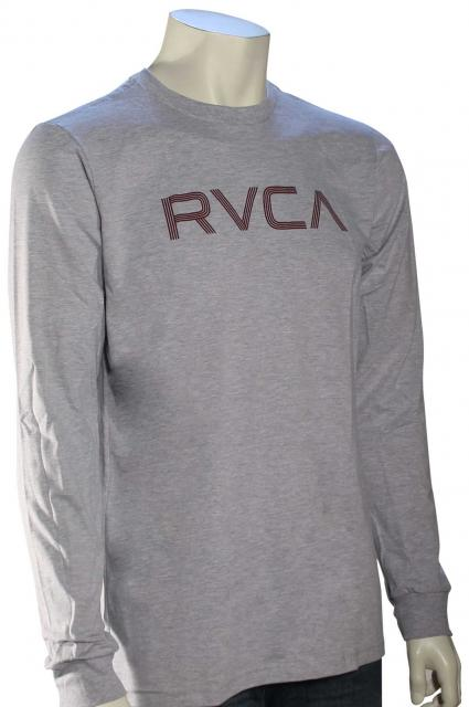 RVCA Lines LS T-Shirt - Athletic Heather