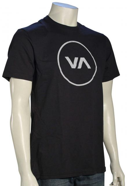 RVCA Position T-Shirt - Black / White