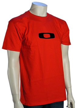 Oakley Square O T-Shirt - Red / Black