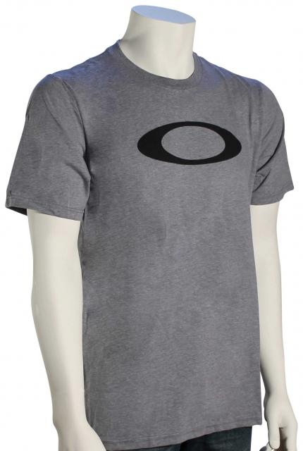 Oakley 50-Bold Ellipse T-Shirt - Athletic Heather Grey