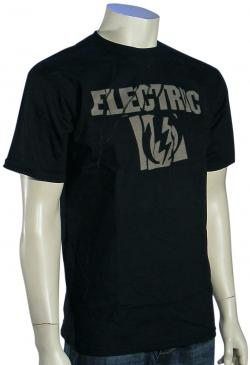 Electric Scrape T-Shirt - Black