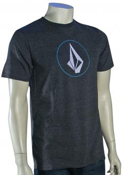 Volcom Circle Stone T-Shirt - Black Heather