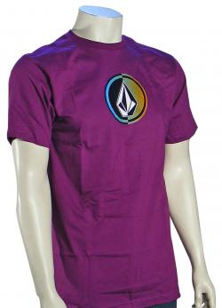 Volcom Circle Stone T-Shirt - Vibrant Purple