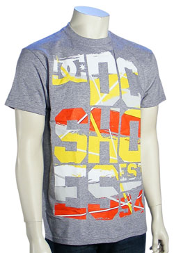 DC Fuller T-Shirt - Heather Grey