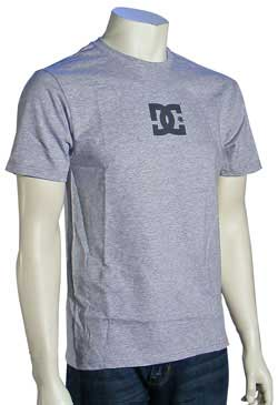 DC Solo Star Slim Fit T-Shirt - Heather Grey