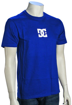 DC Solo Star Slim Fit T-Shirt - Royal Blue