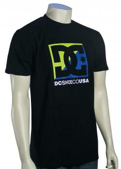 DC Cross Stars T-Shirt - Black / Green