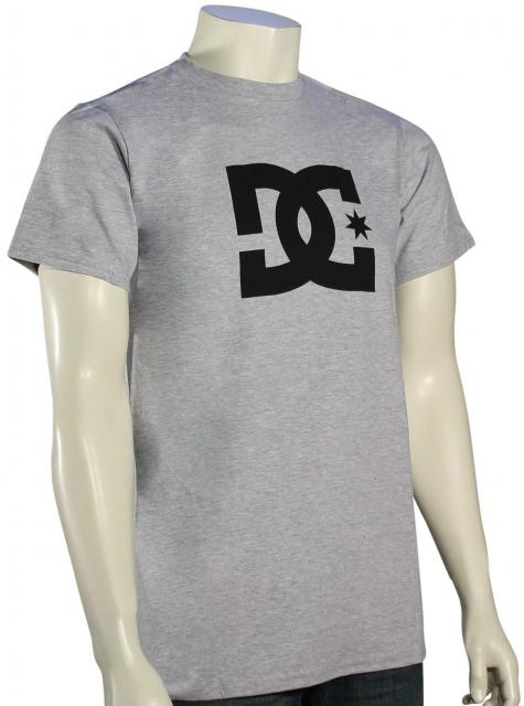 DC Star T-Shirt - Heather Grey