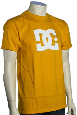 DC Star T-Shirt - Old Gold