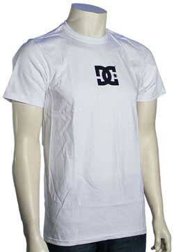 DC Solo Star Slim Fit T-Shirt - White