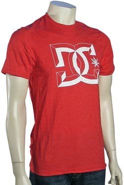 DC Center-D T-Shirt - Heather Red