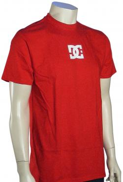 DC Solo Star T-Shirt - Primary Red / White