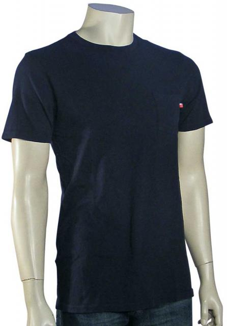 DC Stash Pocket T-Shirt - DC Navy