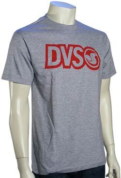 DVS Core T-Shirt - Heather Grey