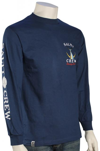 Salty Crew Tailed LS T-Shirt - Harbor Blue