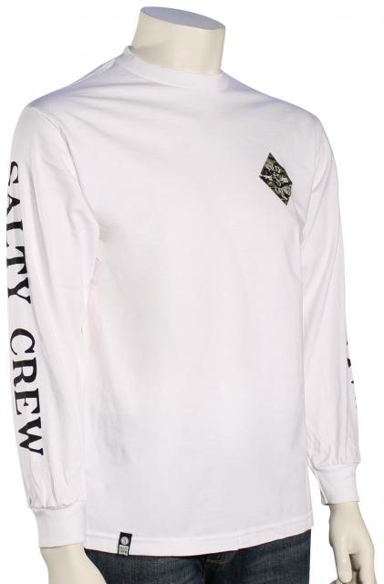 Salty Crew Tippet Cover Up LS T-Shirt - White