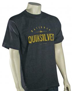 Quiksilver Waterman Outlast T-Shirt - Charcoal Heather