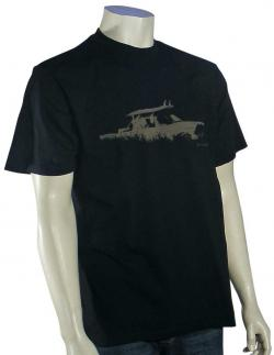 Quiksilver Waterman Torquay T-Shirt - Black