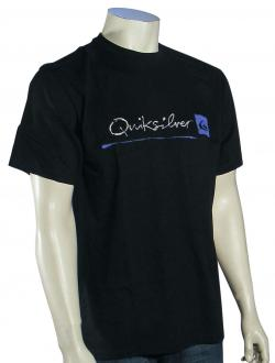 Quiksilver Waterman Standard T-Shirt - Black