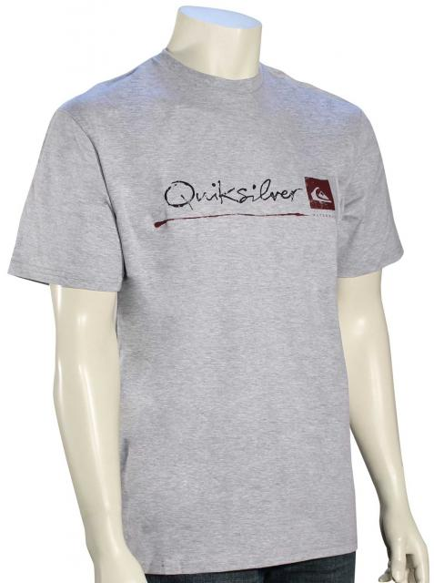 Quiksilver Waterman Standard T-Shirt - Athletic Heather