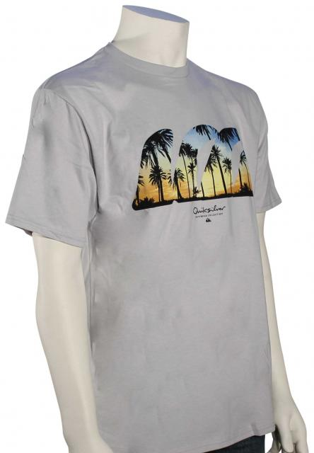 Quiksilver Waterman Quad Fin T-Shirt - Highrise
