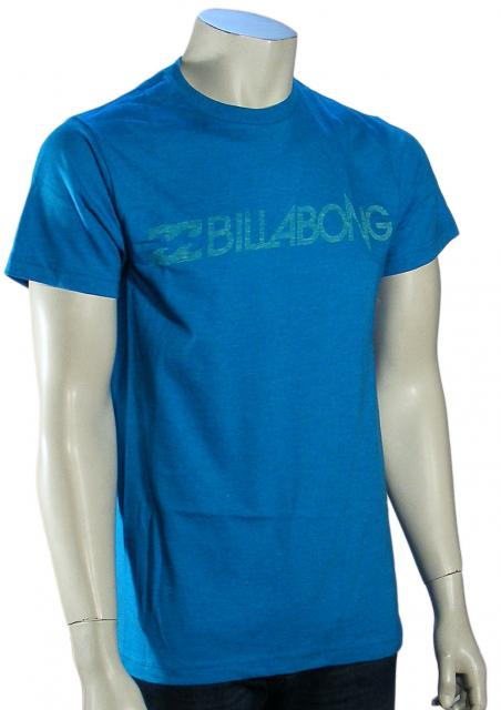 Billabong Staple T-Shirt - Acid Blue Heather