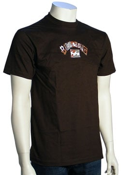 Billabong Marquee T-Shirt - Dark Brown