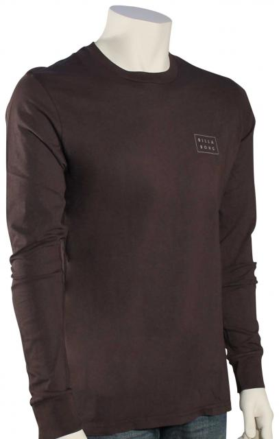 Billabong Die Cut LS T-Shirt - Charcoal