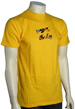 Billabong Interlink T-Shirt - Bright Yellow