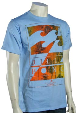 Billabong Bermuda T-Shirt - Light Blue