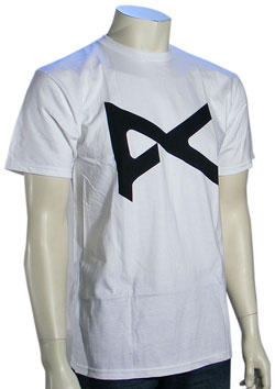 Anon Icon T-Shirt - White / Black