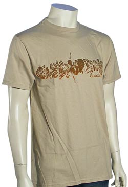Quiksilver Top Turn T-Shirt - Tan