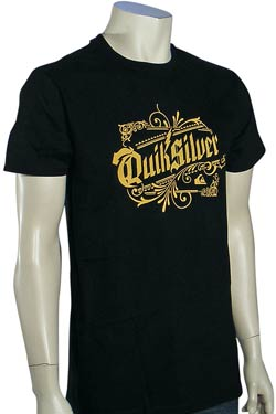 Quiksilver Ready Set Go T-Shirt - Black