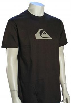 Zoom for Quiksilver Mountain Wave T-Shirt - Brown / Tan