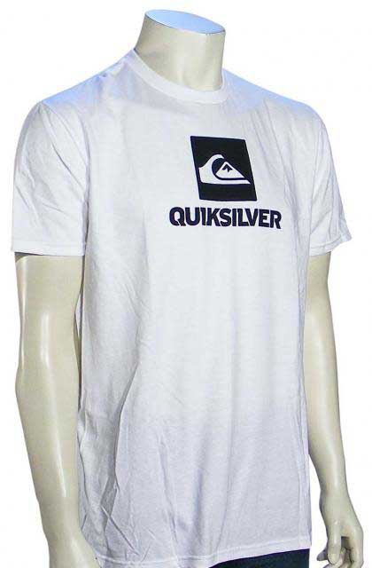 Quiksilver Stackhouse T-Shirt - White / Black