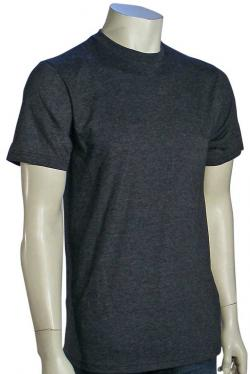 Quiksilver Blank Slim T-Shirt - Charcoal Heather