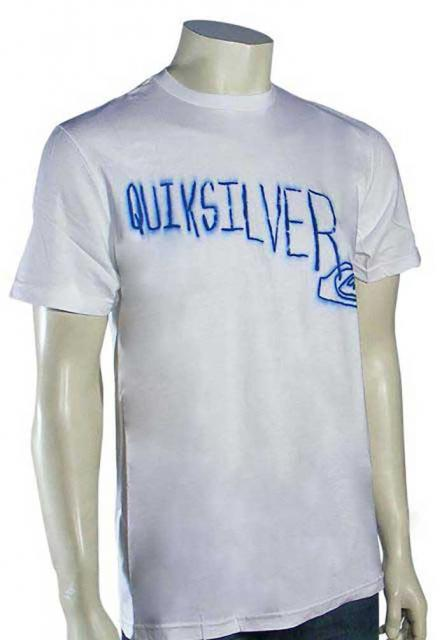 Quiksilver Accelerator T-Shirt - White