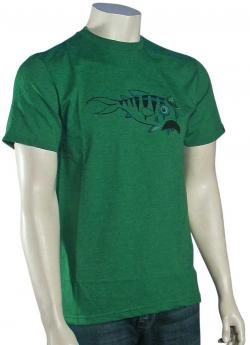 Quiksilver Whiskers T-Shirt - Green