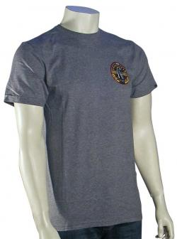 Quiksilver Aikau Seal T-Shirt - Smoke Heather