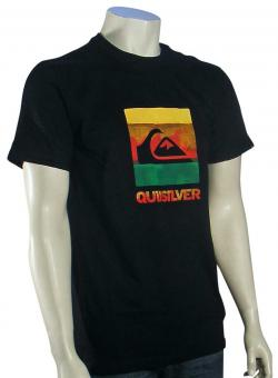 Zoom for Quiksilver Chaos T-Shirt - Black