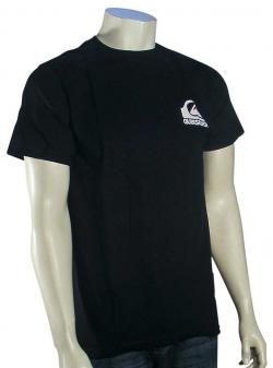 Quiksilver Clean Sweep T-Shirt - Black