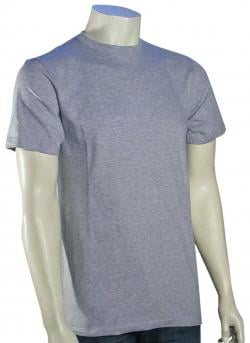 Quiksilver Blank Slim T-Shirt - Athletic Heather