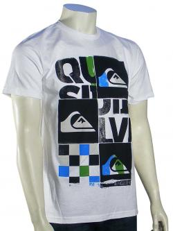 Quiksilver X Ray T-Shirt - White