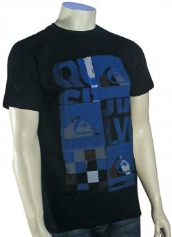 Quiksilver X Ray T-Shirt - Black
