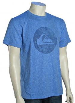 Quiksilver Tilt T-Shirt - Blue Velvet Heather