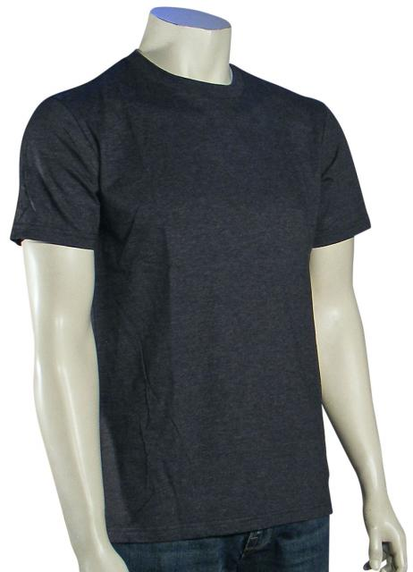 Quiksilver Everyday Crew T-Shirt - Charcoal Heather